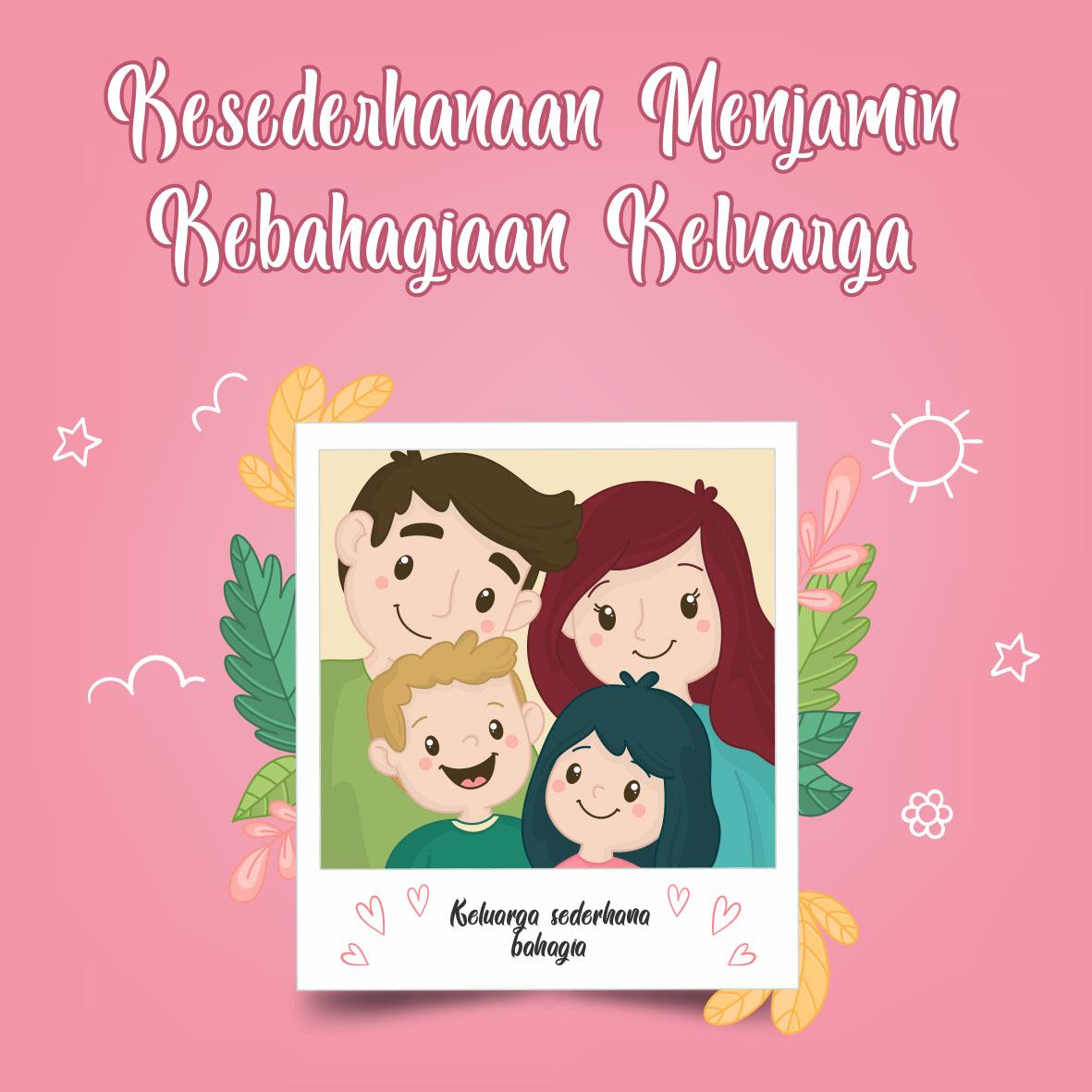 Keluarga-Bahagia-Dengan-Kesederhanaan