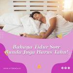 Bahaya Tidur Sore Bunda Juga Harus Tahu!